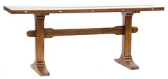 31. Expansion Trestle Table