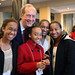 Senator Bill Bradley & kids