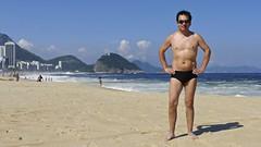 Having fun at Copacabana beach (alobos Life) Tags: boy sea brazil cute guy sol praia beach water sport rio brasil de fun outdoors mar sand agua janeiro body candid playa guys panasonic arena copacabana enjoy deporte alegria speedo sunga divertido zunga