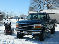 Boys' Toys (Peachhead (1,000,000 views!)) Tags: winter snow pennsylvania pa invierno neige northeast inverno lehighvalley nepa lhiver northamptoncounty slatebelt plainfieldtownship winterstormnemo