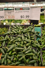 Jalapenos at Grocery Store (Michael Kappel) Tags: midfebruary