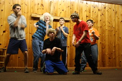 IMG_2854 (ericmuhr) Tags: camp oregon coast weekend youthgroup lipsync middleschool juniorhigh twinrocks newbergfriends juniorhighjamboree