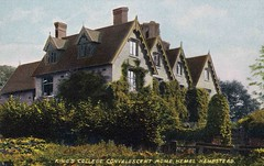 King's College Convalescent  Home, Hemel Hempstead (robmcrorie) Tags: history college home postcard patient hempstead medical health kings national doctor nhs service british nurse healthcare development hemel edwardian convalescent