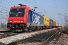 Pronti a Partire..!! (Raffaele Russo (LeleD445)) Tags: family rotterdam gate italia swiss rail sbb cargo container 014 oceano bombardier traxx melzo scalo e484