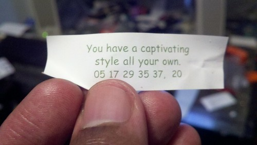 You have a captivating....