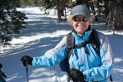 "Janet _5547 (hkoons) Tags: california snow ski mountains landscape nordic recreation sierras i80 peaks skis donnerlake wintersports sierramountains donnerpeak nordicskiers ""crosscountry"" ""crosscountryskiing"" nordicskiersofnevadacounty"