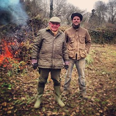 "The help arrives. Winter bonfire burning with my father in Burgundy. #hungrycyclistlodge #burgundywinter • <a style=""font-size:0.8em;"" href=""http://www.flickr.com/photos/30386142@N06/8523926082/"" target=""_blank"">View on Flickr</a>"