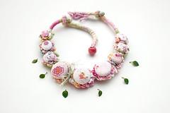 Birdie (rRradionica) Tags: kids necklace handmade crochet craft accessories etsy accessory jewelryforgirls rrradionica
