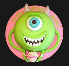 Monsters, Inc. Cake (valscustomcakes) Tags: 2213