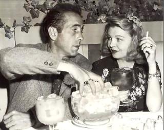 Humphrey Bogart and Mayo Metho -