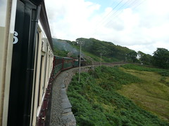Approaching Ddaullt (Worthing Wanderer) Tags: summer wales july railway steam 2009 ffestiniog narrowgauge ffestiniograilway gwynnedd
