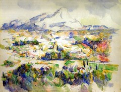 Paul Cézanne - Mont Ste Victoire, 1906 at Oskar Reinhart Art Collection Winterthur Switzerland (mbell1975) Tags: art museum painting french paul switzerland am europe gallery museu fine arts musée musee m collection oskar impressionism museo 1906 mont ste impression impressionist muzeum cezanne victoire finearts winterthur beauxarts cézanne müze sammlung reinhart römerholz museumuseum