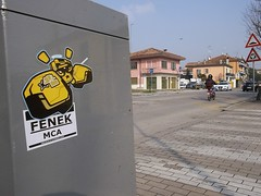 ITALIE........................................... (NekF -trade break-) Tags: italia stickers mestre italie 14bolt fenekmca