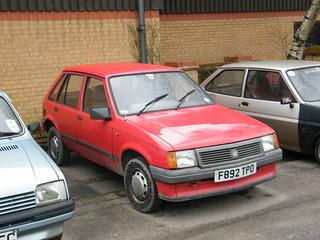 River View Cafe, Classic Car Club - 1988 Vauxhall Nova