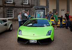 Green Gallardo (<p&p>photo) Tags: uk italy house building green classic sports car scotland italian classiccar edinburgh august historic hopetoun lamborghini carshow gallardo sportscar 2012 southqueensferry hopetounhouse lamborghinigallardo italiancarshow classiccarshow worldcars august2012 87da