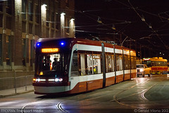 ttc4400_IMG_4040 (G.Viloria Photography | TTC1700s Transport Media) Tags: light red toronto training floor ttc low tram rail testing transit vehicle rocket outlook streetcar commission articulated hillcrest bombardier lrv flexity lflrv
