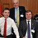 Stephen Hanna, Chairman - IHF Dublin Branch and GM, Camden Court Hotel, Terry McCoy, Redbank House & Restaurant and Alan Moody, GM, Ashling Hotel, Dublin.