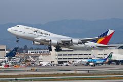 Philippine Airlines Boeing 747-400 RP-C8168 (jbp274) Tags: airport philippines airplanes pr boeing lax 747 philippineairlines klax