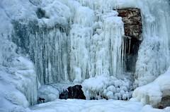 Icefall (stefanh.varberg) Tags: winter ice water rock frozen nikon sweden nikkor icefall ramhulta d5100 nikkor1685f3556 nikond5100