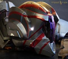 Halo 4 Wetwork (Tsabo Tsaboc) Tags: 3 real chief 4 helmet halo master armor impact props wetwork