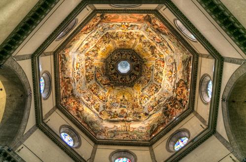 Ceiling in Duomo di Santa Maria del Fiore