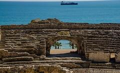 Amphitheatre Tarragona (keithhull) Tags: spain mediterranean roman amphitheatre catalonia historic catalunya tarragona espange