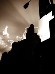 Power of Light (Joe Enfield) Tags: usa newyork unitedstates manhattan 2012 matka pilvi taivas lumixgvariohd14140f4058