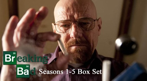 hot tv series dvd top three list on IDVDSETbreaking bad 1-5