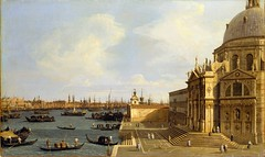 Canaletto - Metropolitan Museum of Art 59.38. Venice: Santa Maria della Salute (c. 1740) (lack of imagination) Tags: people church buildings boats blog cityscape gondolas metropolitanmuseumofart canaletto 35004000