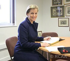The Countess of Wessex visits the Royal Cornwall Agricultural Association (The British Monarchy) Tags: cornwall sophie agm showground whitecross wadebridge agriculturalassociation visitorsbook countessofwessex
