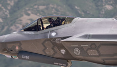 Maj. John Cougar Wilson in the F-35 (Fly to Water) Tags: f35 joint strike fighter lightning ii lockheed martin combat military john cougar wilson usaf pilot cockpit canopy stealth aviation aircraft airplane vehicle outdoor plane 5th generation attack tactical