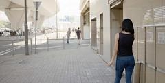 people in the city (Steve only) Tags: film zeiss t dusk rangefinder contax snaps carl g1 epson f2 452 45mm rf planar kodakproimage100 245 peopleinthecity tstar v750 gtx970