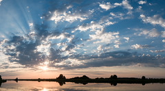 Evening (andrey.senov) Tags: russia kostroma province summer volga river blue sky clouds panorama            fujifilm fuji xa1 fujifilmxa1 bayou 50faves