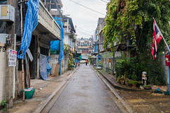 After the rain (goAlafuente) Tags: alley bangkok thailand asia rain monsoon sony 6300 a6300 sigma 19mm sigma19mm street lonely travel travelling