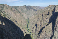 Black Canyon National Park (aaronrhawkins) Tags: blackcanyon blackcanyonnationalpark nationalpark montrose colorado gunnison river canyon steep walls dramatic cliffs sheer shadows narrow aaronhawkins