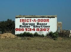 erect-a-door (peet-astn) Tags: diepsloot erectadoor sign southafrica township gauteng johannesburg