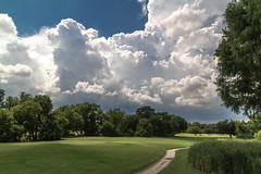 MG_0022-3 (In Explore) (918monty) Tags: billowingclouds weather prairie collincountytexas texas thunderheads planotexas golfcourse texasthunderstorms planotx pecanhollowgolfcourse thecolorgreen flickrexplore