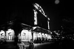the wolf man (jeff_tidwell) Tags: street streetphotography streetphoto candid night train station moon denver union blackandwhite
