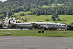 Lockheed L-1049F Super Constellation HB-RSC Breitling (Super Constellation Flyers) (mm-photoart) Tags: lockheed l1049f super constellation hbrsc breitling flyers