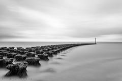 Precision (Dave Kiddle) Tags: david cloud davekiddle felixstowe groyne kiddle longexposure sea davekiddlephotography davidkiddle davidstephenkiddle