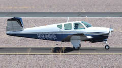 Beech K35 Bonanza N650Q (ChrisK48) Tags: 1958 35 aircraft airplane beechk35 bonanza dvt kdvt n650q phoenixaz phoenixdeervalleyairport