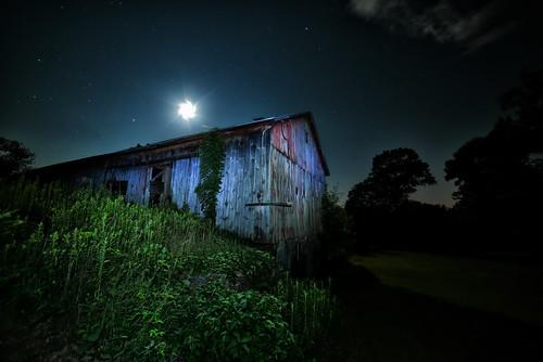 Moon And Barn No.4