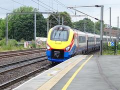 EMT 222001 @ West Hampstead Thameslink (Sim0nTrains Photos) Tags: eastmidlandstrains class222 222001 dmu dieselmultipleunit westhampsteadthameslinkstation midlandmainline bombardier bombardiertransportation meridian 1c55 emt