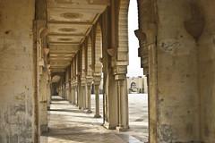 Hallways around the courtyard of the Hassan II Mosque, Casablanca (Jonmikel & Kat-YSNP) Tags: casablanca morocco march 2007