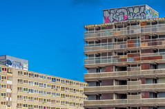 Demolition @londonlights (London Lights) Tags: londonlights demolition london lights londres londra heygateestate towers graffiti urban innercityblues architecture tion