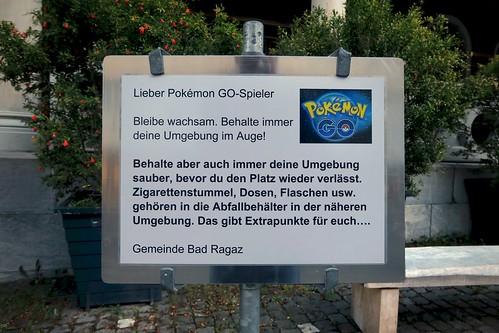 Bad Ragaz - Pokémon Go