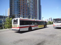New Flyer D40LF #7340 on the 123C Shorncliffe Run (Edward B.'s Pictures) Tags: kiplingstation 123cshorncliffe 123shorncliffe newflyer d40lf 7340 torontoontario etobicokeontario torontotransitcommission ttc ttcbus