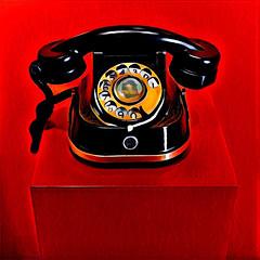 telephone (Leo Reynolds) Tags: xleol30x prisma phone telephone groupprisma