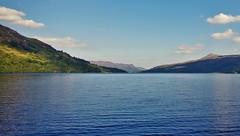 Loch Katrine (brightondj - getting the most from a cheap compact) Tags: thirdwalk scotlands loch water landscape trossachs lochkatrine