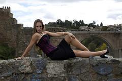 Davinia (jlhuys farfan) Tags: davinia farfan modelo model chica girl mujer woman rubia negro corset
